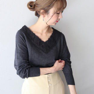 Noble -  Spick and Span Noble ★レースニット