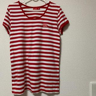 エックスガール(X-girl)のX-girl チュニック丈Tシャツ(Tシャツ(半袖/袖なし))