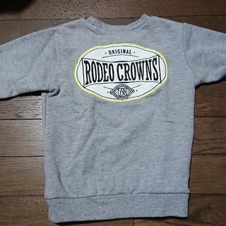 ロデオクラウンズワイドボウル(RODEO CROWNS WIDE BOWL)の中古  ロデオキッズトレーナーM(Tシャツ/カットソー)