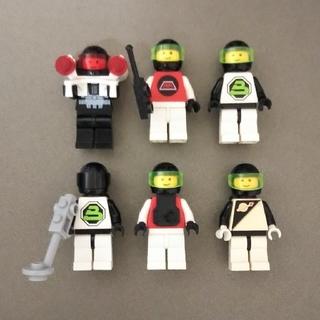 Lego - LEGO スペースミニフィグ