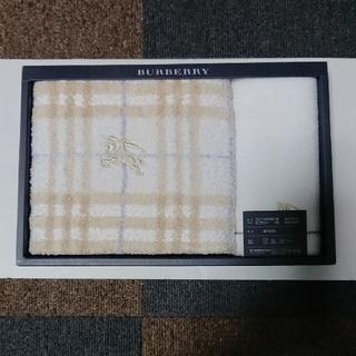 BURBERRY - バーバリー フェイスタオル&ミニタオル