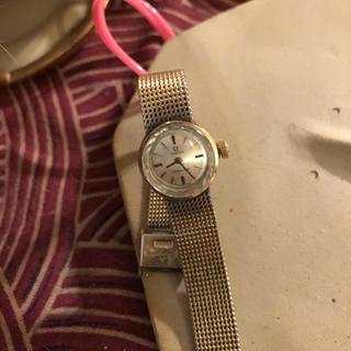 オメガ(OMEGA)のオメガ  lady matick  アンティーク(腕時計)