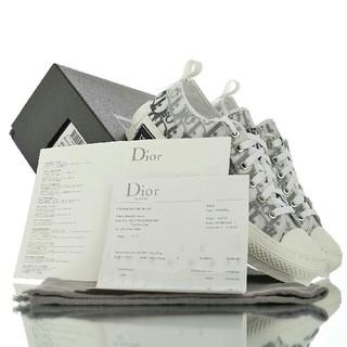 ディオール(Dior)のDior B23 Oblique High Top Sneakスニーカー24cm(スニーカー)