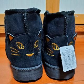 ♪新品♪猫柄ショートムートンブーツ♪L♪キャット♪(ブーツ)