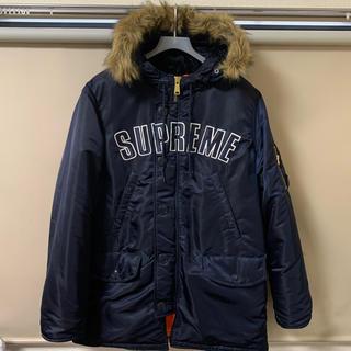 Supreme - Supreme Arc Logo N-3B Parka L