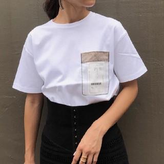 アメリヴィンテージ(Ameri VINTAGE)のamerivintage/TAG POCKET TEE(Tシャツ(半袖/袖なし))