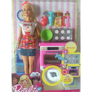 バービー(Barbie)のbarbie cooking バービー人形 ベーキング 新品 海外で大人気 (ぬいぐるみ/人形)