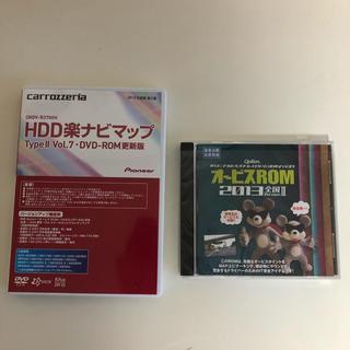 パイオニア(Pioneer)のHDD楽ナビマップ DVD-ROM更新版 2013とオービスROM(カーナビ/カーテレビ)