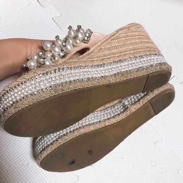 Rady(レディー)のインポート ビジュー ウエッジソール 36  レディースの靴/シューズ(サンダル)の商品写真