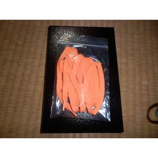 靴ひも オレンジ 120cm 新品(スニーカー)
