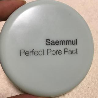 ザセム(the saem)のザセム[The Saem]センムルセンムルポアパーフェクトパクト(フェイスパウダー)