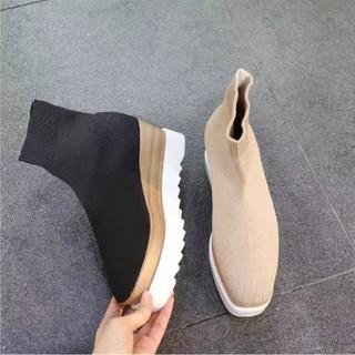 スライ(SLY)の【2color】ソックス ブーツ  厚底(ブーツ)
