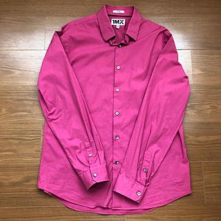 長袖シャツ ピンク XL(シャツ)