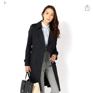 オリヒカ(ORIHICA)のコート 紺 ベルト 就活 インターンシップ オフィスカジュアル ビジネスウェア(トレンチコート)