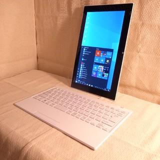 ソニー(SONY)の超美品 タッチパネル 超うすうす軽量 タブレット&PC SSD超速 Win10(ノートPC)