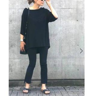 DEUXIEME CLASSE - 新品  mother ブラックスキニーパンツ デニム