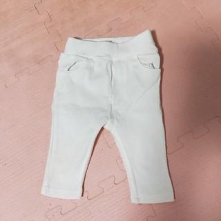 プティマイン(petit main)の白パンツ80(パンツ)