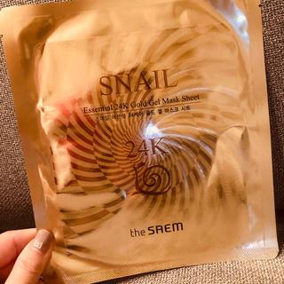 ザセム(the saem)の2枚!ザセム 24kゴールドジェルマスクシート(パック/フェイスマスク)