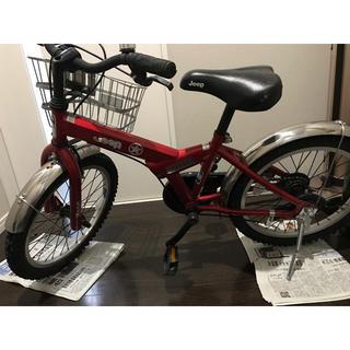 ジープ(Jeep)の子供用自転車 Jeep 18インチ 八尾市(自転車)
