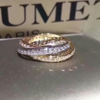 カーターズ(carter's)のCarter 3色ダイヤモンドの指輪(リング(指輪))