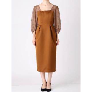 LagunaMoon - ラグナムーン LADYシアードットスリーブタイトドレス