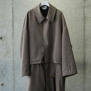 SUNSEA - YOKE 3WAY COAT
