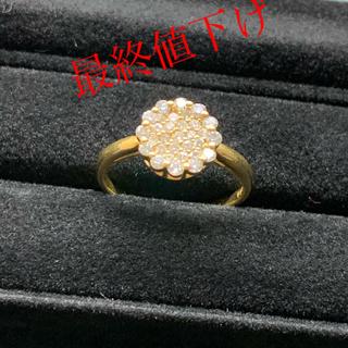 k18 ダイヤ リング (リング(指輪))