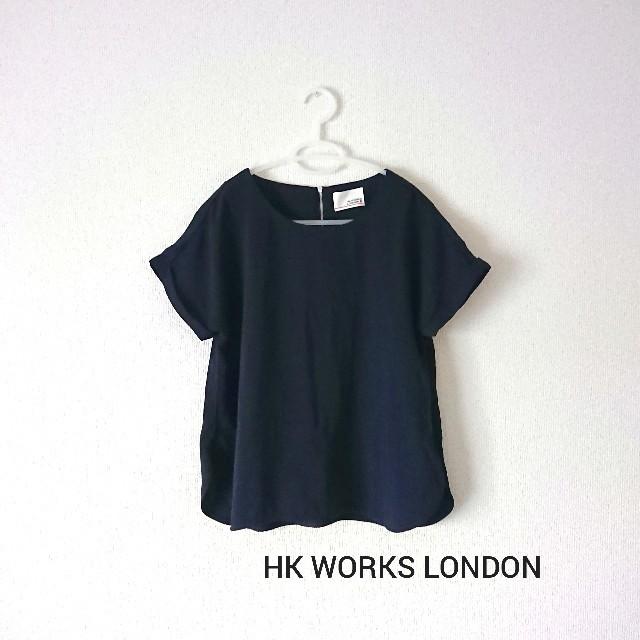 しまむら(シマムラ)のHK WORKS LONDON・シンプルブラウス レディースのトップス(シャツ/ブラウス(半袖/袖なし))の商品写真