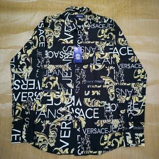 ヴェルサーチ(VERSACE)の正規品 Versace ヴェルサーチ シャツ 落書き ロゴ 高品質(シャツ)