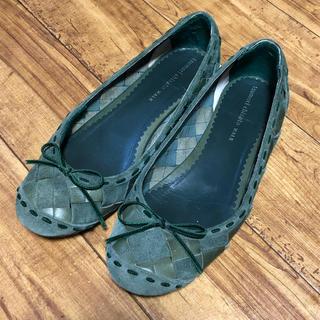 ツモリチサト(TSUMORI CHISATO)のツモリチサト フラットシューズ 24(ローファー/革靴)