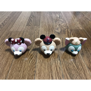 Disney - ディズニー ダッフィー  小物入れ(3個セット)