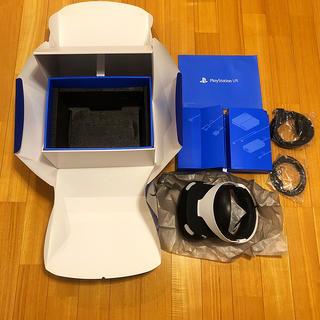 プレイステーションヴィーアール(PlayStation VR)の[美品]psvr (同梱カメラ,おまけ付き) CUHJ-16001(家庭用ゲーム機本体)