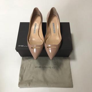 ペリーコ(PELLICO)の♡PELLICO ペリーコ♡ パテント パンプス フラットシューズ 靴 37(ハイヒール/パンプス)