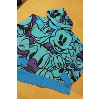 Disney - ディズニー Disney 美品 ミッキー パーカー LL
