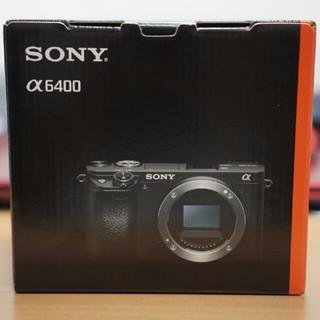 SONY - 【新品未使用】 α6400 ボディのみ SONY APS-C ミラーレスカメラ