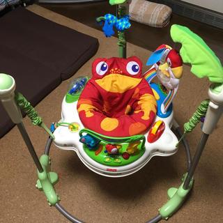 フィッシャープライス(Fisher-Price)のジャンパルー フィッシャープライス レインフォレストジャンパルー おもちゃ(ベビージム)