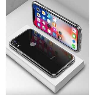 背面ガラス クリア iPhone XR スマートフォン ケース カバー
