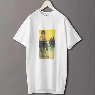 ビューティアンドユースユナイテッドアローズ(BEAUTY&YOUTH UNITED ARROWS)の<6(ROKU)>今期完売!TWIN PEAKS Tシャツ XL(Tシャツ(半袖/袖なし))