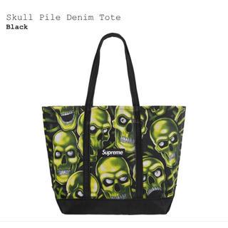 Supreme - supreme Skull Pile Denim Tote bag 新品未使用