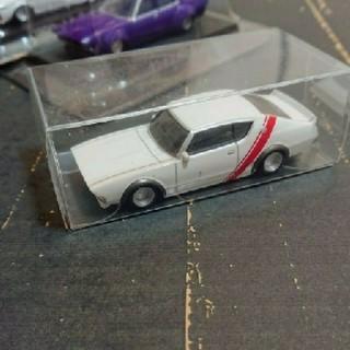 アオシマ(AOSHIMA)の旧車ミニカー グラチャン仕様 ケンメリ、ローレル3台(ミニカー)