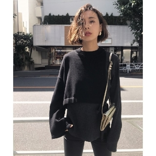 Ameri VINTAGE - 新品タグ付 アメリヴィンテージ THERMAL COMBI KNIT