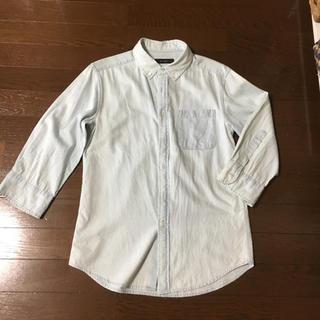 RAGEBLUE - RAGE BLUE  七分袖  シャツ  Sサイズ