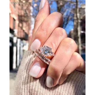 HARRY WINSTON - ❤️美品❤️2つセットで エンジェルピーチ 合成ダイヤリング 指輪 アクセサリー