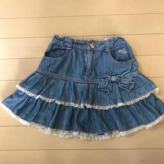 mezzo piano - メゾピアノ   かわいいスカート サイズ130