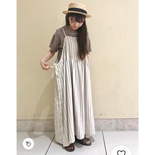 SM2 - サマンサモスモス 脇リボンキャミワンピース
