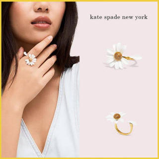 kate spade new york - 【新品¨̮♡︎】ケイトスペード イントゥーザブルーム リング US7