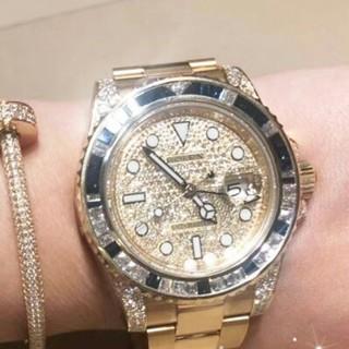ROLEX - イギリスの専門売り場Rolex*ロレックスさんゴールドのダイヤモンド腕時計