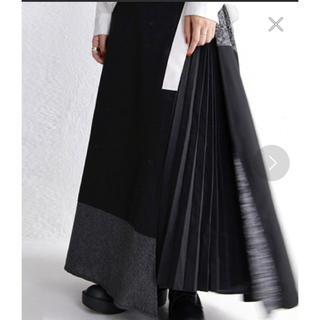 antiqua - アンティカ  モード プリーツ 切り替え スカート