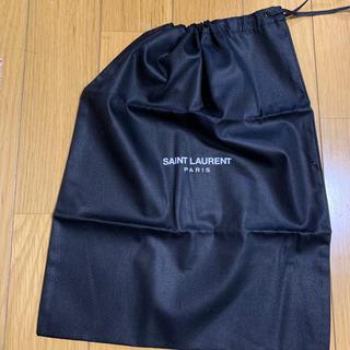 サンローラン(Saint Laurent)のサンローラン 巾着 黒(ポーチ)