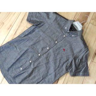 バーバリーブラックレーベル(BURBERRY BLACK LABEL)の美品 バーバリーブラックレーベル ロゴ 半袖シャツ(シャツ)